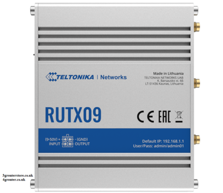 Teltonika RUTX09 4G CAT6 LTE M2M Router