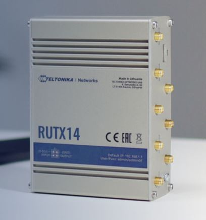 Teltonika RUTX14 Industrial IOT M2M 4G Router