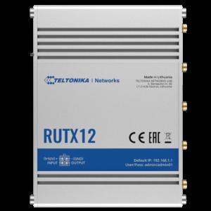 Teltonika RUTX12 4G CAT6 LTE Router for M2M IOT
