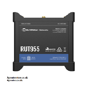 Teltonika RUT955 4G LTE Router Serial connection